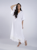 Kaftan Voile Small Embroidery