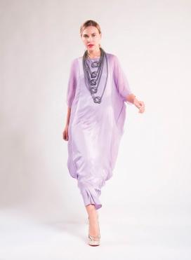 Φόρεμα Κομπινεζόν 100% Μεταξωτό