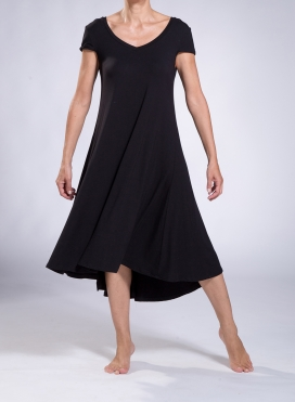 Dress Ray cap sleeves elastic sized