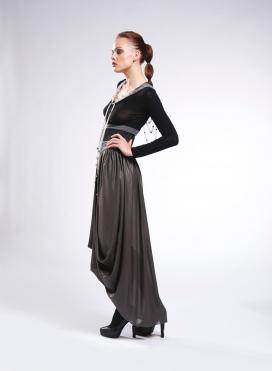 Skirt Drape maxi lux