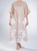 Kaftan Voile Big Embroidery 100% Cotton