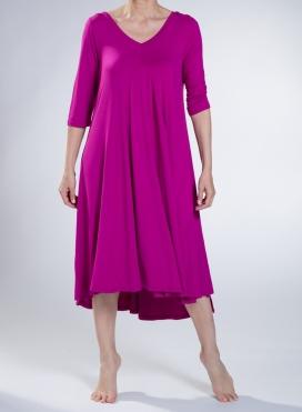 Dress Ray-Ray 3/4 sleeve elastic sized