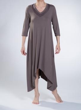 Φόρεμα V Shark bite fit double ελαστικό sized