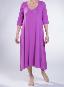 Φόρεμα S.P. Ray 3/4 Μανίκι Sized Ελαστικό
