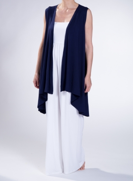 Jacket Nepal Midi sleeveless elastic