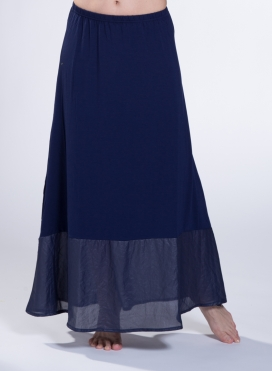 Skirt A Line Long Double Sized