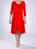 Φόρεμα Hemline midi ελαστικό sized