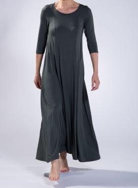 Dress Harm 3/4 Sleeve Maxi Elastic Sized