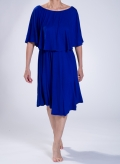 Dress 2level midi elastic