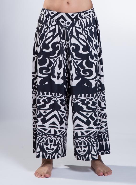 Pants A Neoclassical print