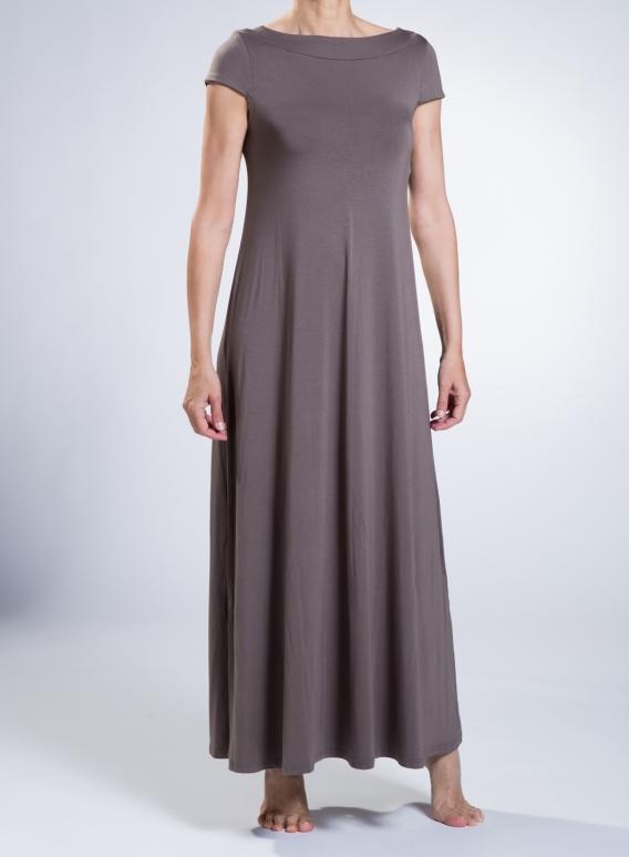 Dress Olia cap sleeve maxi sized