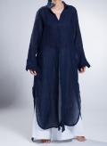 """Φόρεμα """"Σεμιζιέ Summer"""" μακρύ μανίκι 100%"""