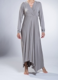 Dress V Croisee/Asymmetric Maxi elastic