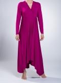 Φορεμα V Κρουαζε/ΑσυΜΜετρο Maxi ελαστικό