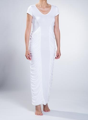 Dress Spiral Maxi Short Sleeves