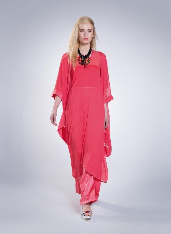 Ζακέτα Tetragoni Chiffon 100% silk