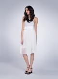 Φόρεμα Simple στράπλες ελαστικό