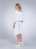Φόρεμα 2 Level Midi Plisse Thick