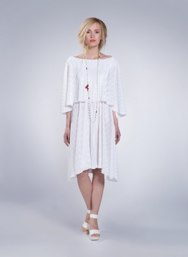 Dress 2 Level Midi Plisse