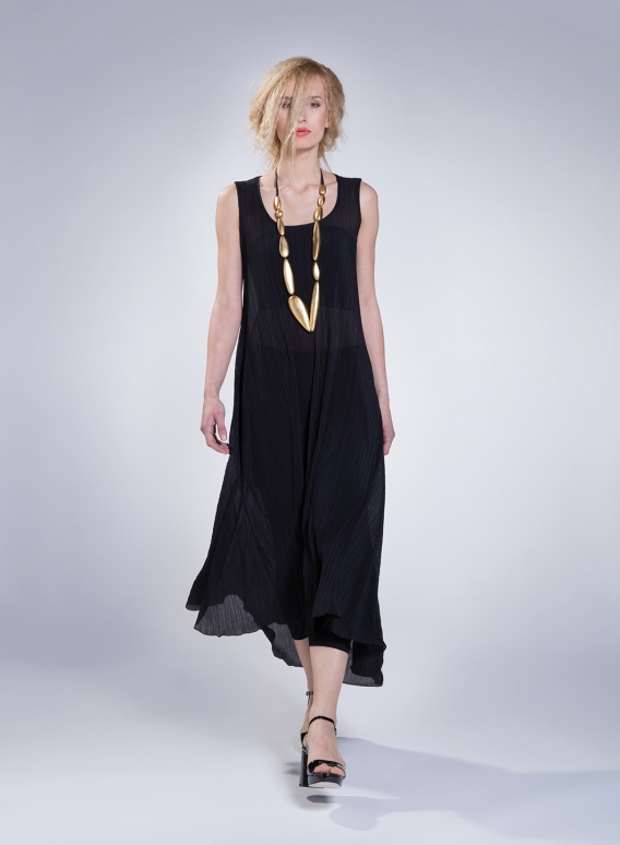 Dress Athlos Plisse Thin 100% Pol