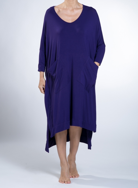 Dress Slits pockets elastic