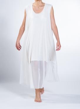 Dress Mytes Sleeveless Maxi Tulle