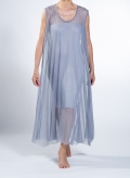 Dress Mytes Sleeveless Maxi Tulle