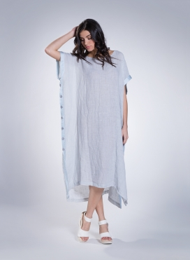 Dress Venus Linen gauze/Silk
