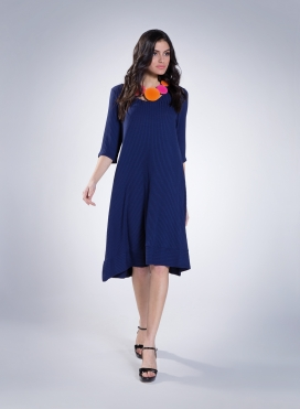 Dress Kristin Long 0,5 rib elastic
