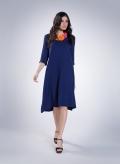 Φόρεμα Kristin Long 0.5 rib ελαστική