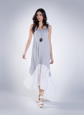 Dress Delos Sleeveless Maxi Double