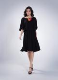 Φόρεμα 2 lLevel Midi Elastic