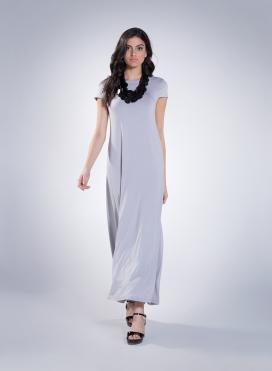 Φόρεμα Olia cap sleeve maxi sized