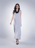Dress Olia cap sleeve maxi sized