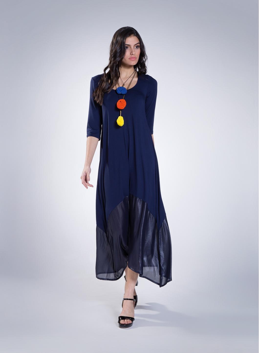 Dress Delos 3/4 Maxi Sleeves