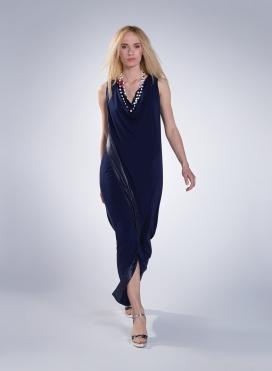 Φόρεμα Jolie Χώρις Μανίκι Maxi Double