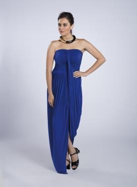 Φόρεμα Στράπλες Lingua Ελαστικό