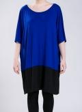 Dress Parfait two color elastic