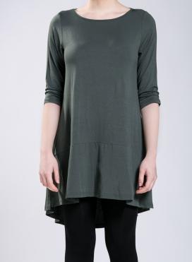 Blouse Volan 3/4 sleeve elastic