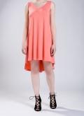 Φόρεμα Ray mini χωρίς μανίκι ελαστικό