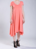 Dress Hemline Cap Sleeve 50/50