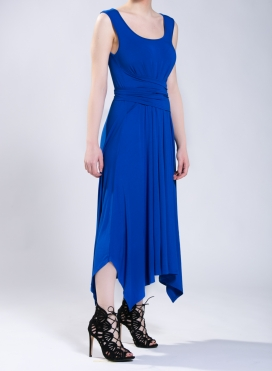 Φόρεμα Ζώνη χωρίς μανίκι ελαστικό