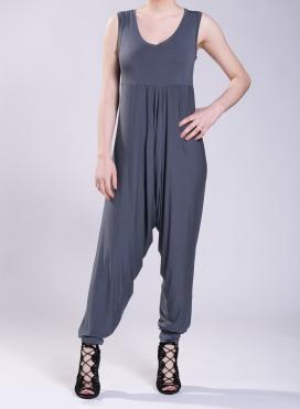 Φόρμα Zip Βράκα χωρίς μανίκι ελαστική