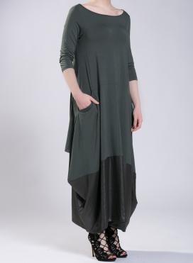 Φόρεμα Tulip pockets 3/4 μανίκια double