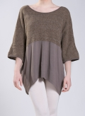 Blouse Fifty Fifty elastic/ chenille