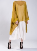 Blouse Square Short 100% Chiffon