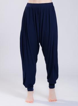 Harem Pants Calf Elastic