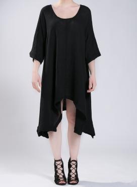 Φόρεμα Μύτες Μακρύ Μανίκι Corfu