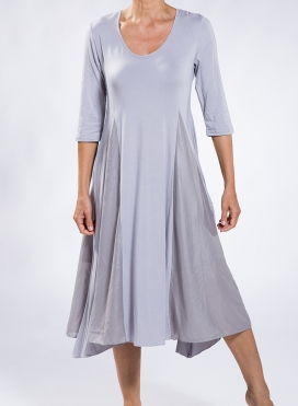 Dress Maya 3/4 sleeve midi double