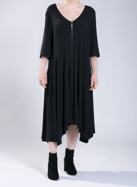 Dress Zip Long 3/4 sleeves A210